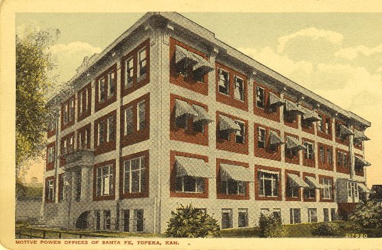 Pioneer Motive Power Place - Histotic Postcard